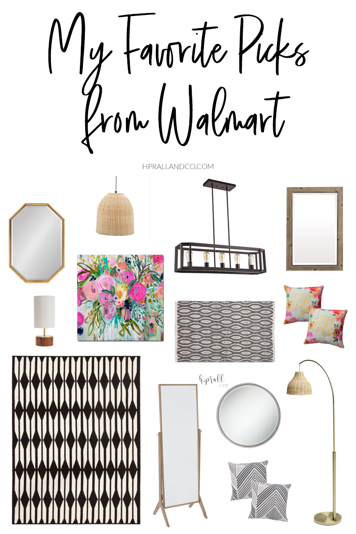 I'm sharing my favorite picks from Walmart over at hprallandco.com! | H.Prall and Co. Interior Decorating