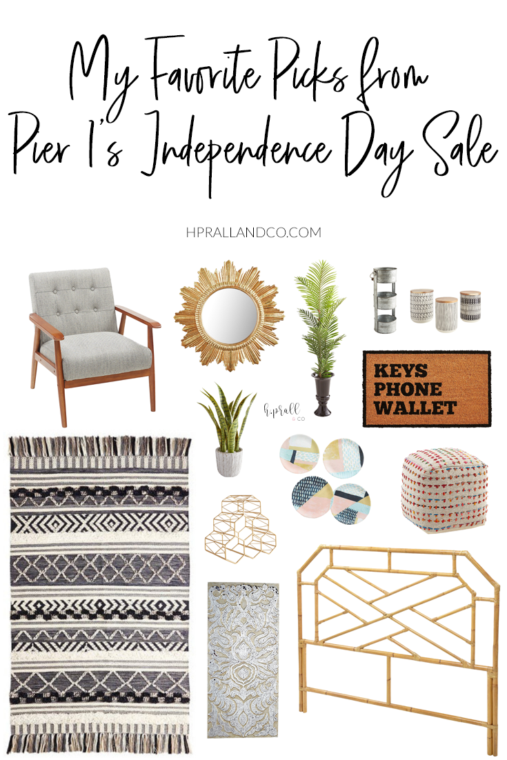 I'm sharing my favorite picks from Pier 1's Independence Day Sale over at hprallandco.com! | H.Prall and Co. Interior Decorating