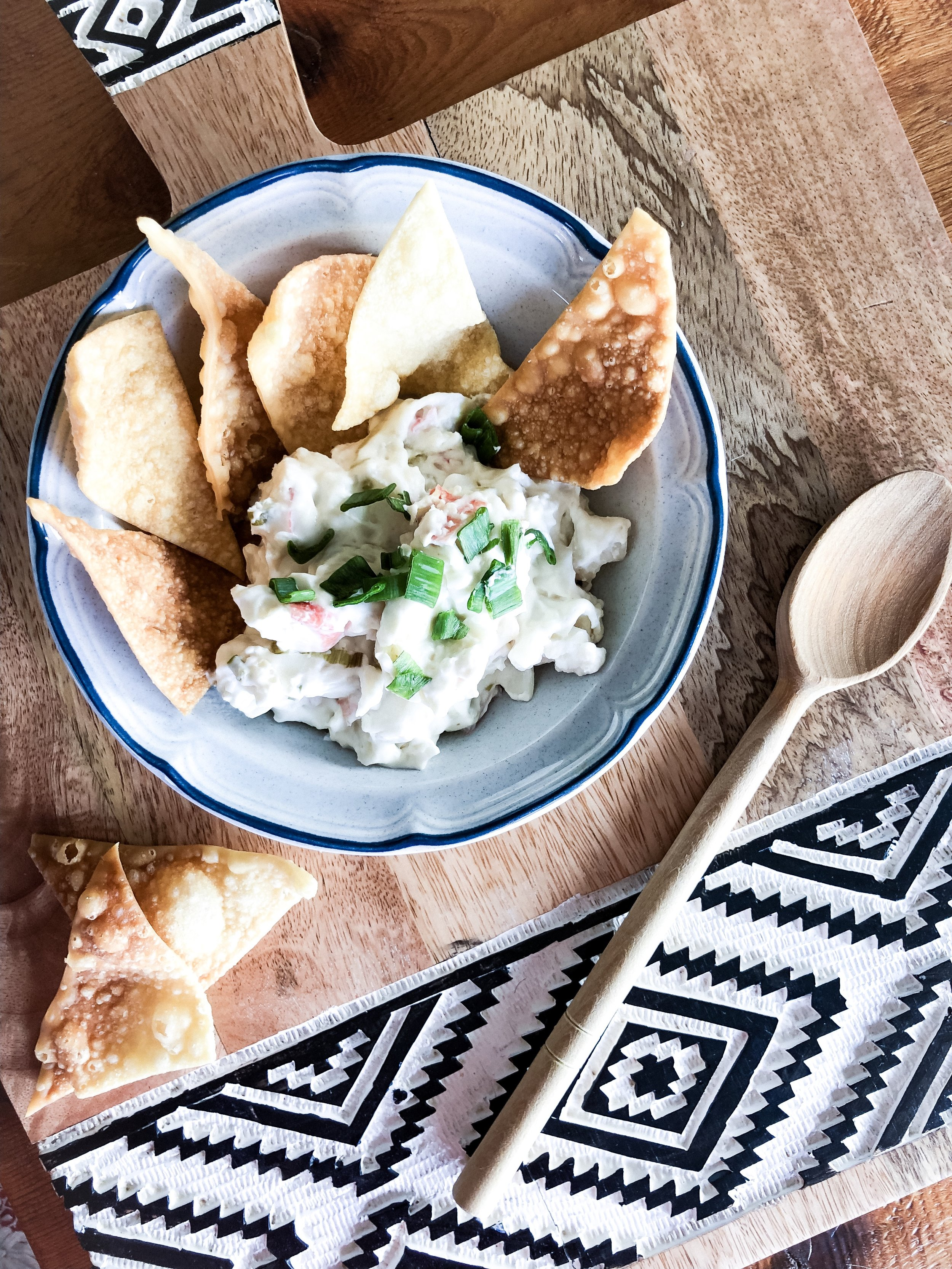 Crab Rangoon Dip Recipe from hprallandco.com! | H.Prall and Co. Interior Decorating