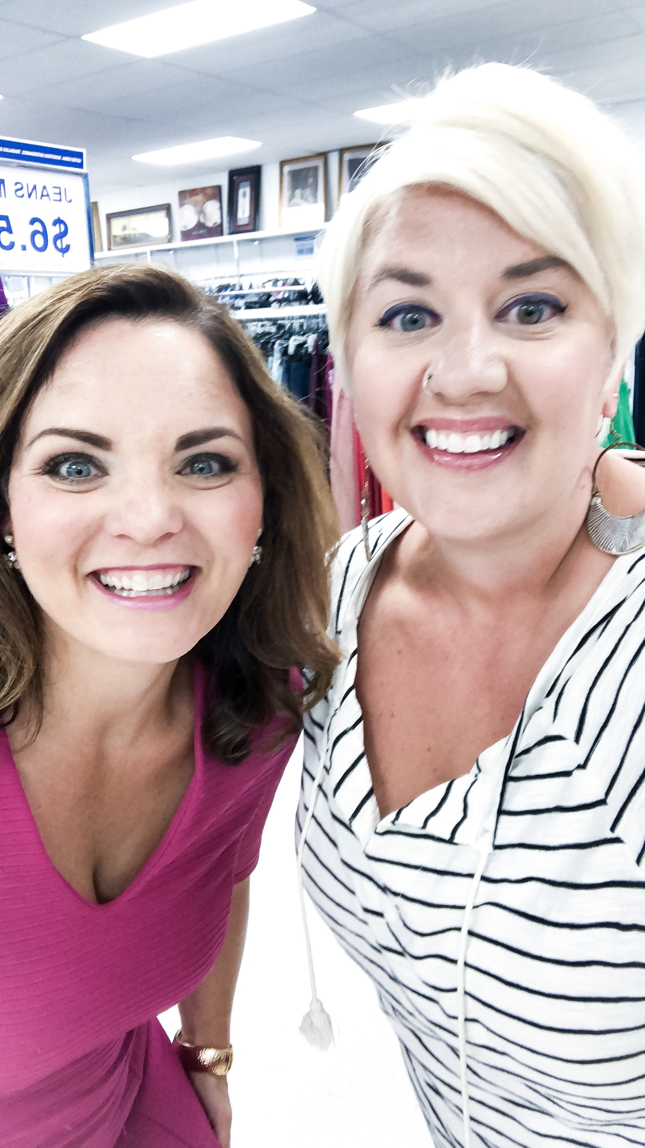 I had a blast being interviewed by Megan Reuther for News Channel 13 Today In Iowa! They wanted to know all the things about how to thrift and decorate your home on a budget, and I was excited to share what I know with them!