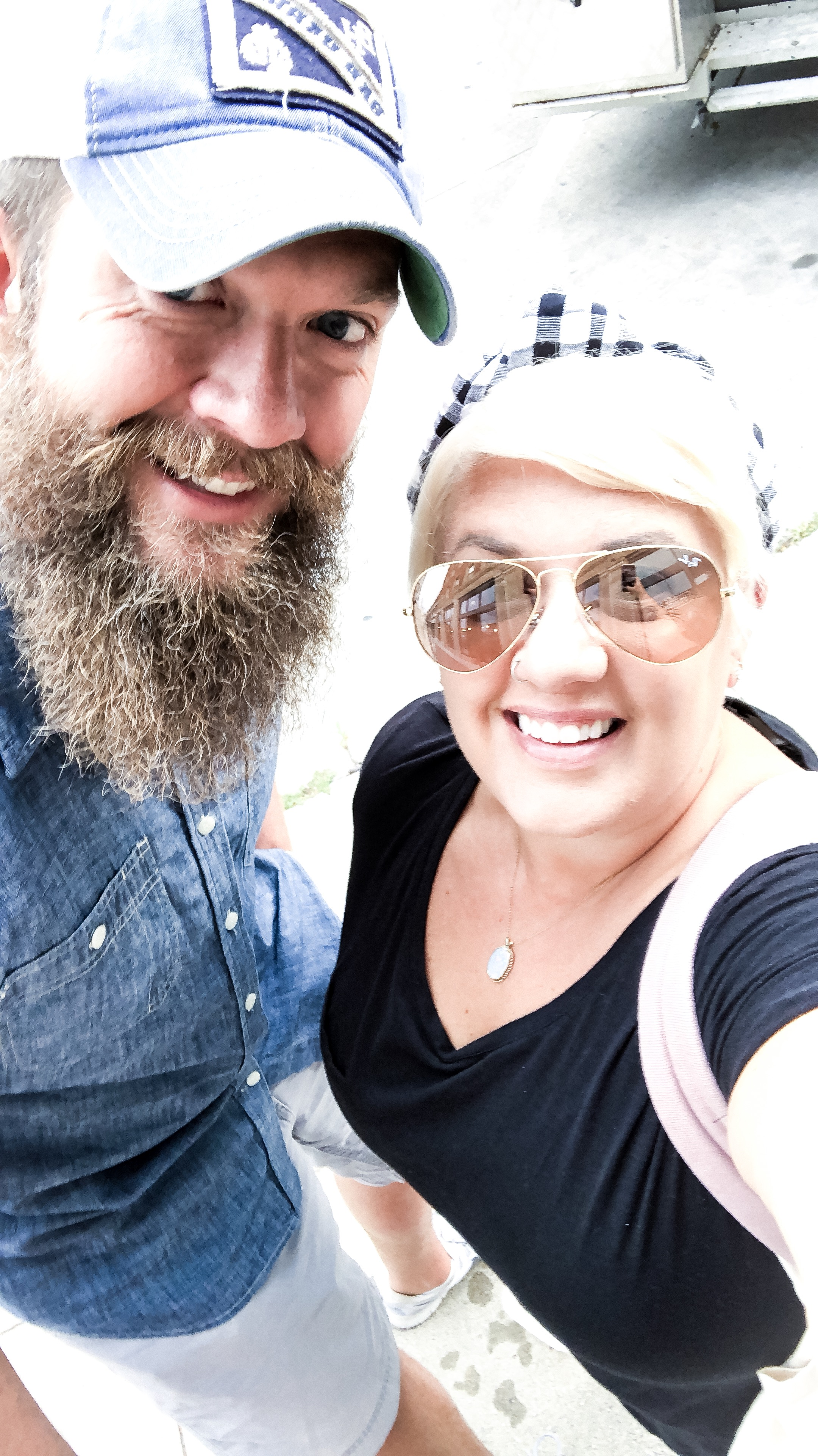 We finally got the chance to visit the farmers market in Ames, IA! It is the perfect size for us—we love good food, coffee, and people watching, but also don't enjoy huge crowds.