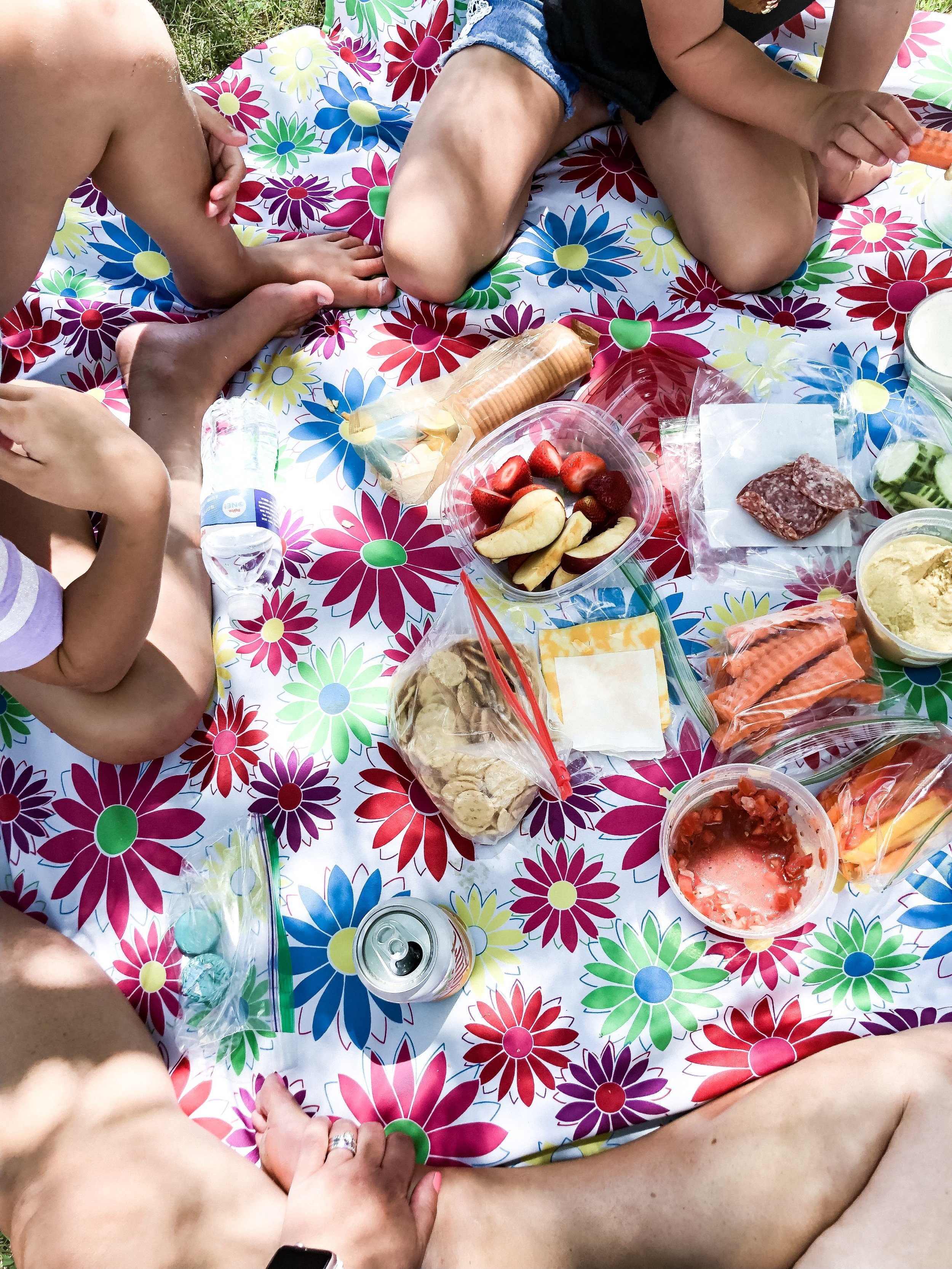 We've been enjoying a lot of summer picnics to enjoy the weather, make some memories, and save money!