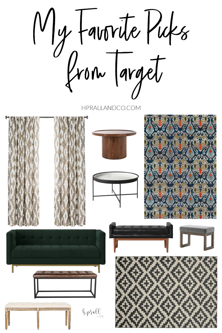 I'm sharing my favorite picks from Target over at hprallandco.com! | H.Prall and Co. Interior Decorating