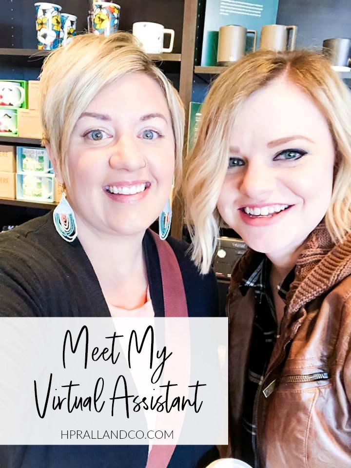 Meet my virtual assistant, Andrea, over at hprallandco.com!