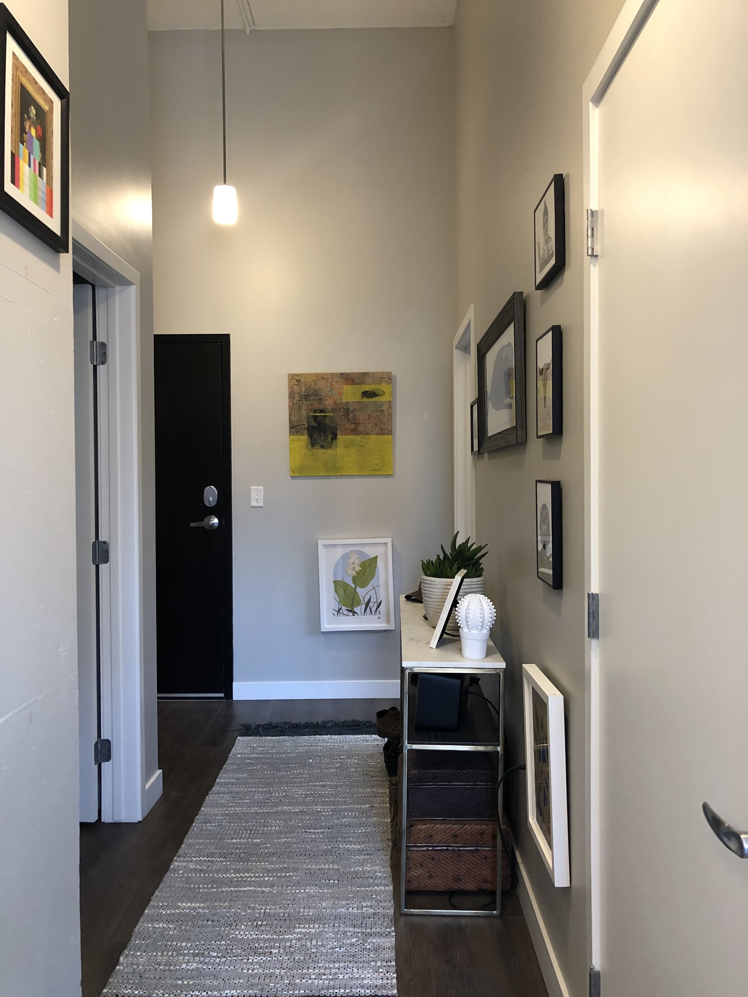 Flux Apartments - Des Moines, Iowa Before Styling by H.Prall and Co. Interior Decorating
