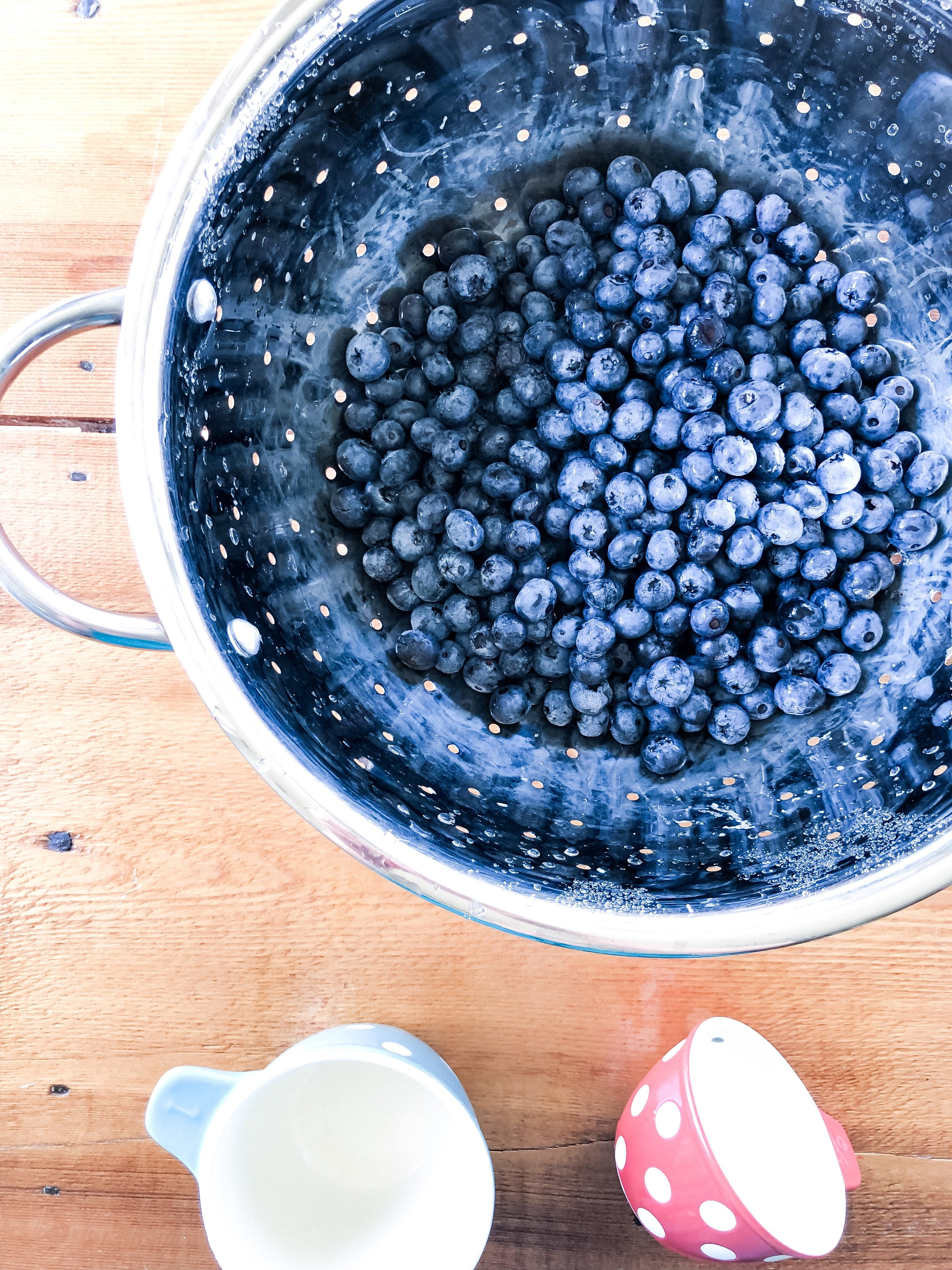 Blueberry Crisp Recipe by H. Prall & Co. | H. Prall & Co. Interior Decorating