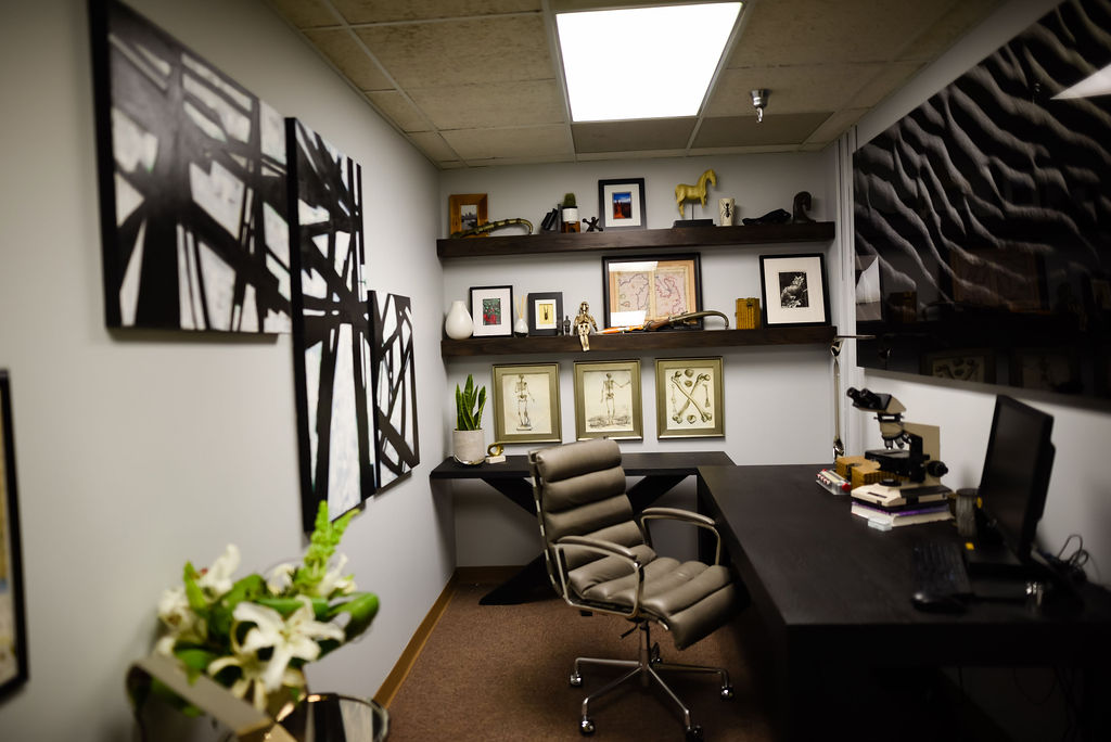 Josh Cook Office Makover by H. Prall & Co. | H. Prall & Co. Interior Decorating | Des Moines, IA
