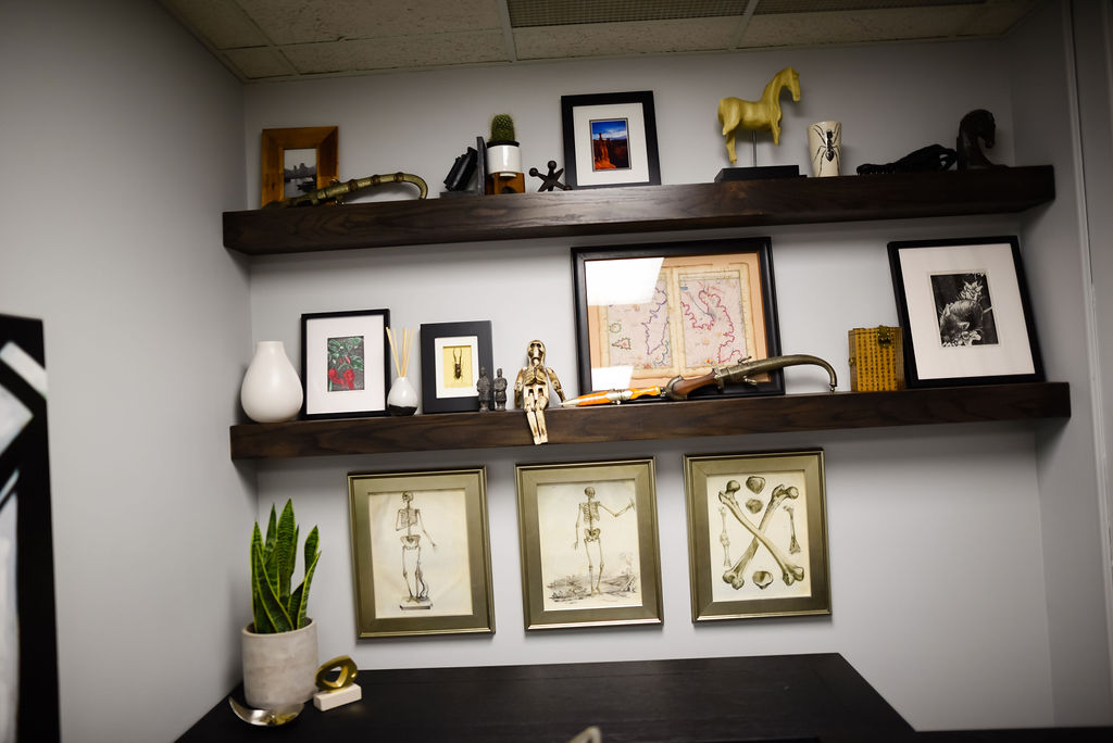 Josh Cook Office Makeover from hprallandco.com | H.Prall and Co. Interior Decorating | Des Moines, IA
