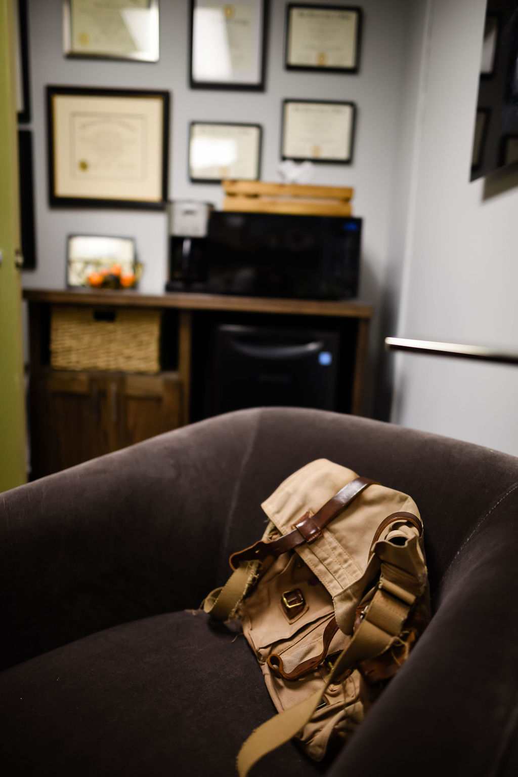 Josh Cook Office Makeover from hprallandco.com | H. Prall & Co. Interior Decorating | Des Moines, IA