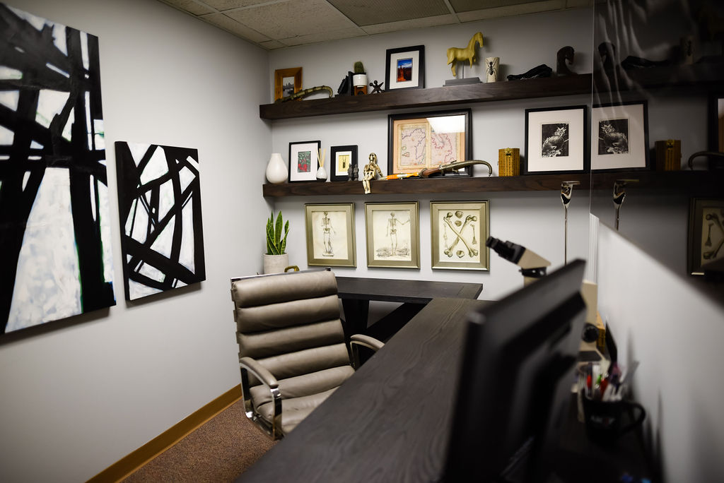 Josh Cook Office Makover from hprallandco.com | H. Prall & Co. Interior Decorating | Des Moines, IA