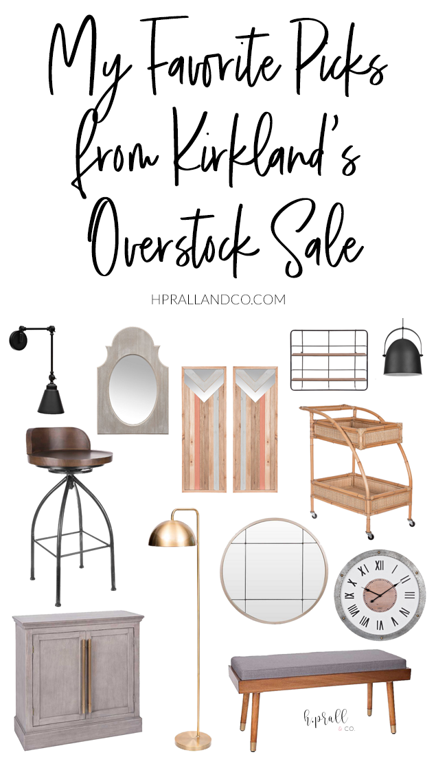I'm sharing my favorite picks from Kirkland's Overstock Sale over at HPrallandCo.com!