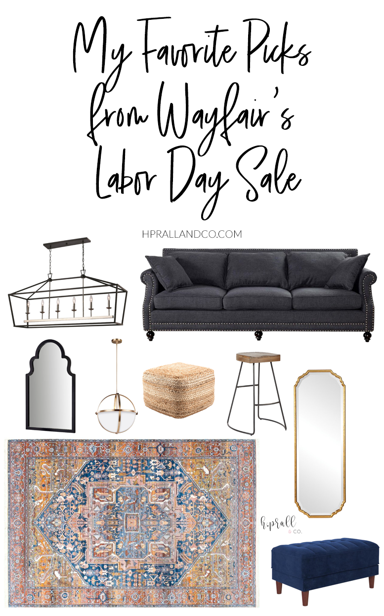 I'm sharing my favorite picks from Wayfair's Labor Day Sale over at HPrallandCo.com!