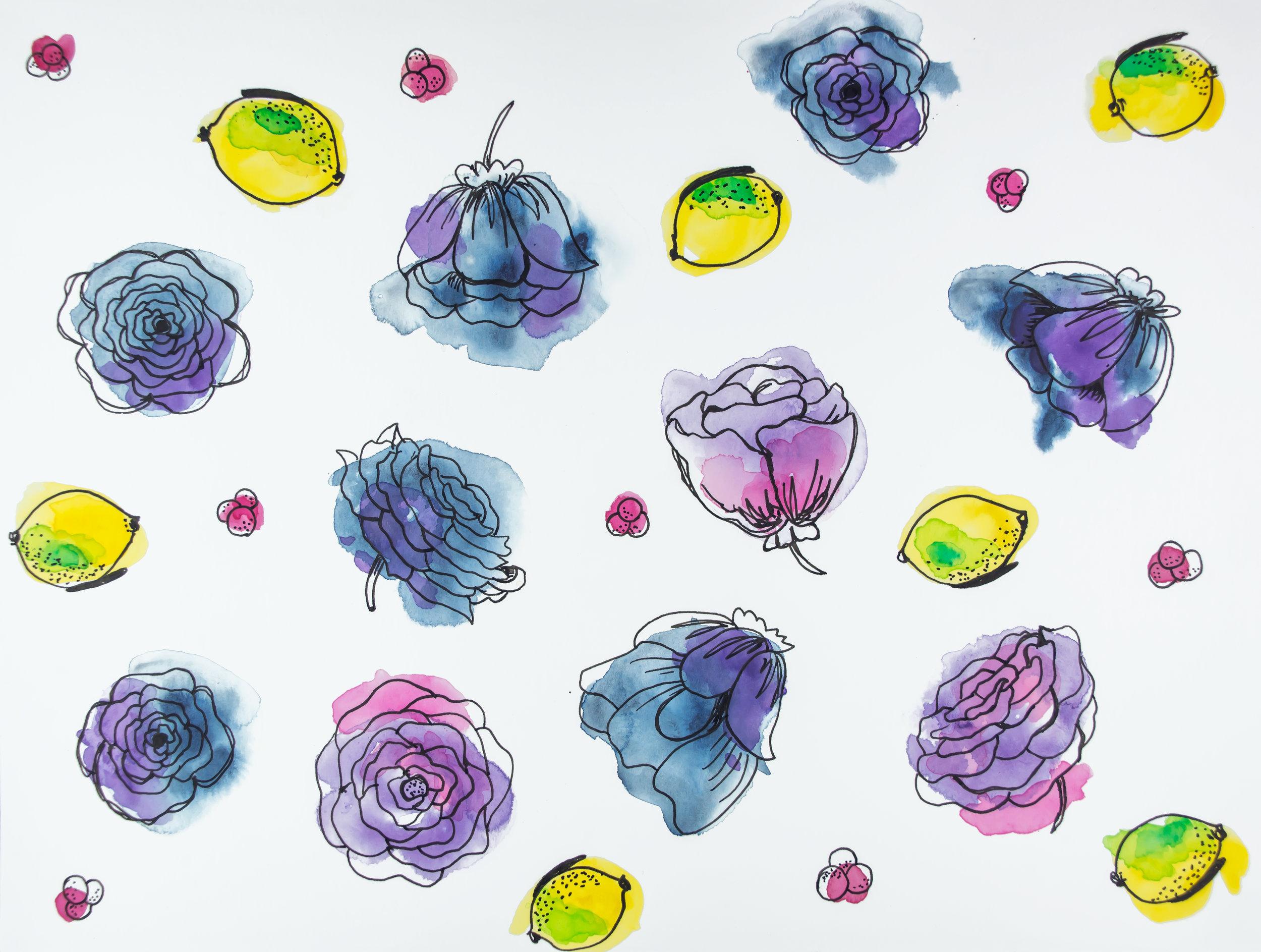 Lemon Florals