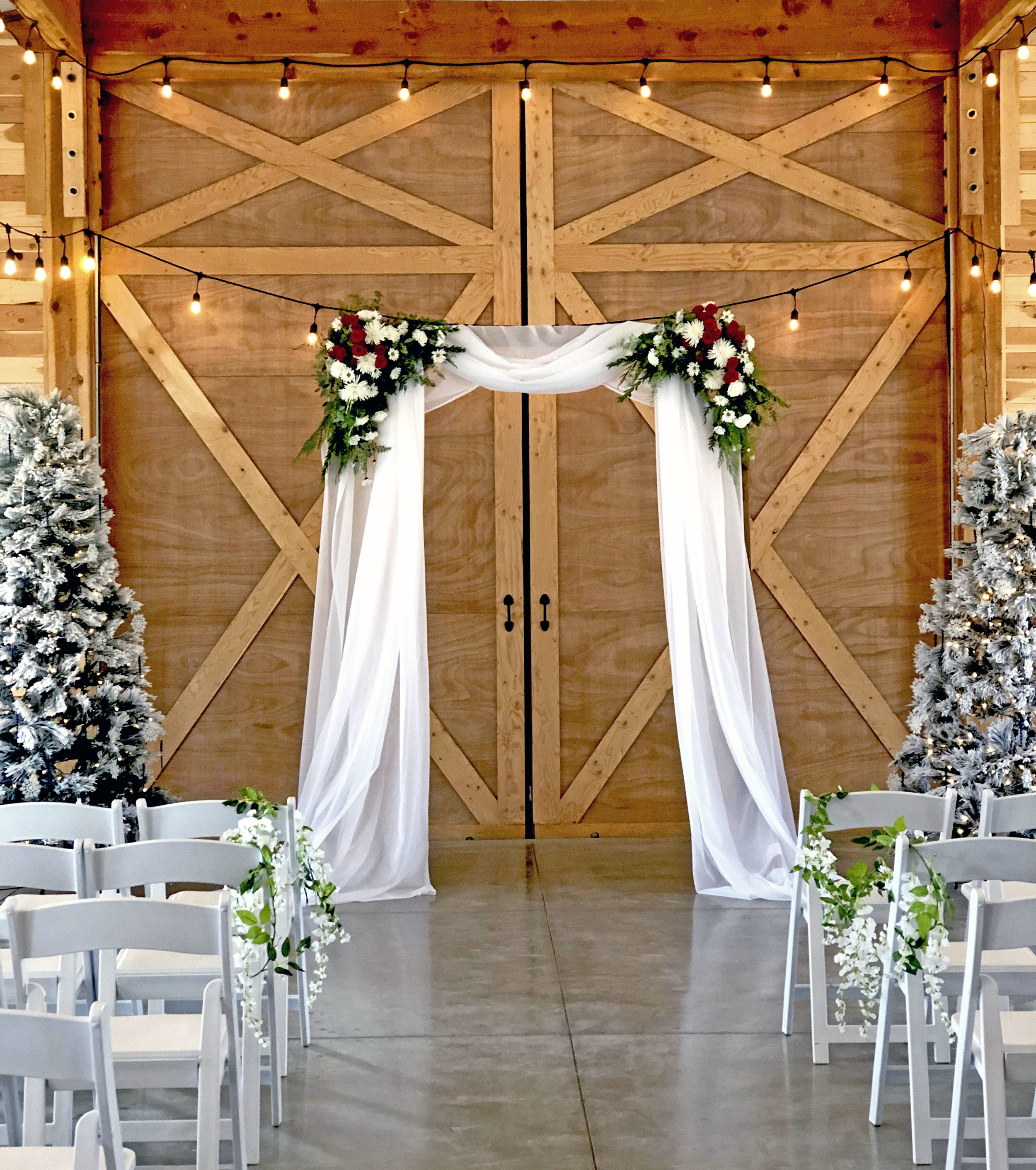 Rugged Horizon Winter Wedding ARch.jpg