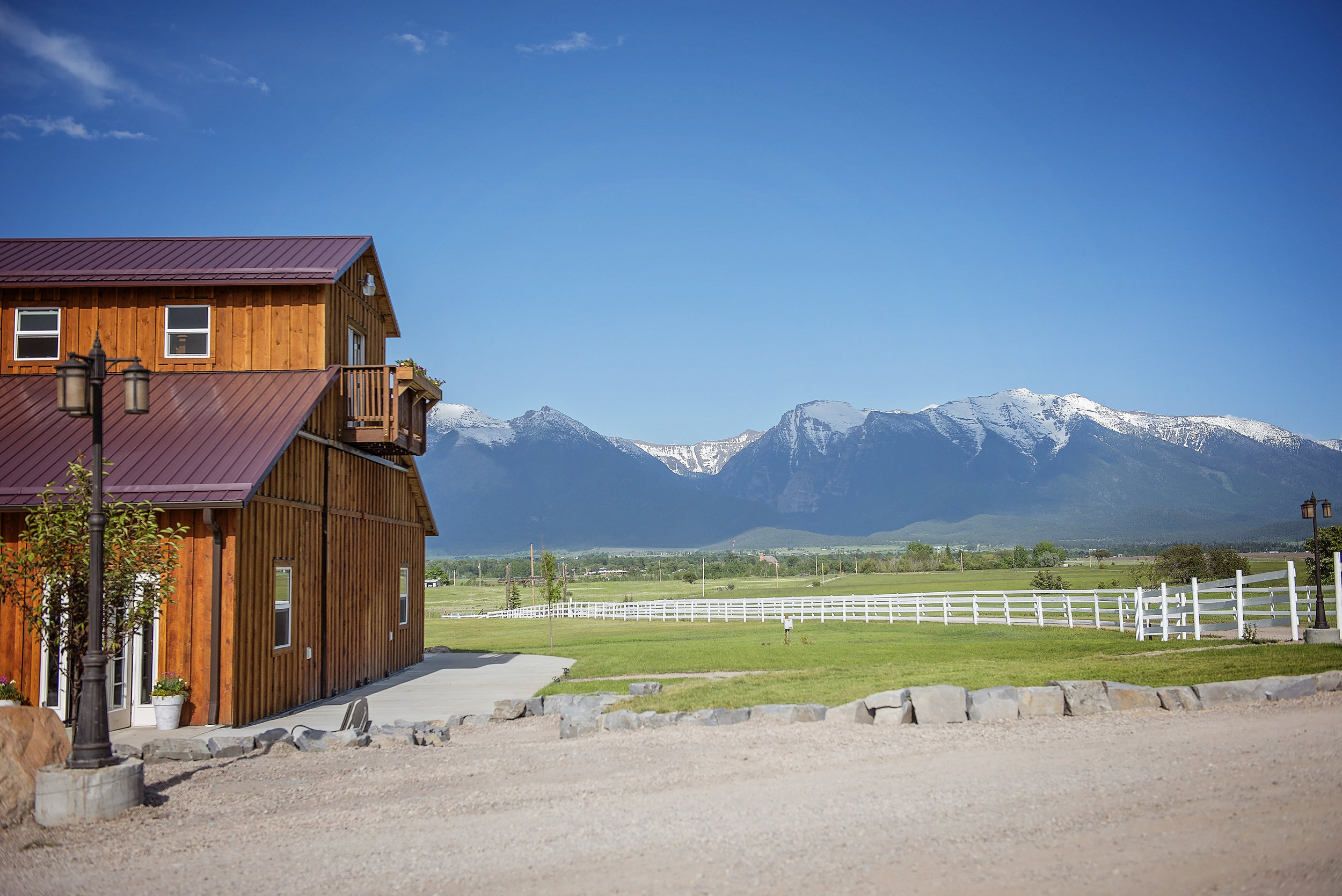 Barn Wedding with a View at Rugged Horizon