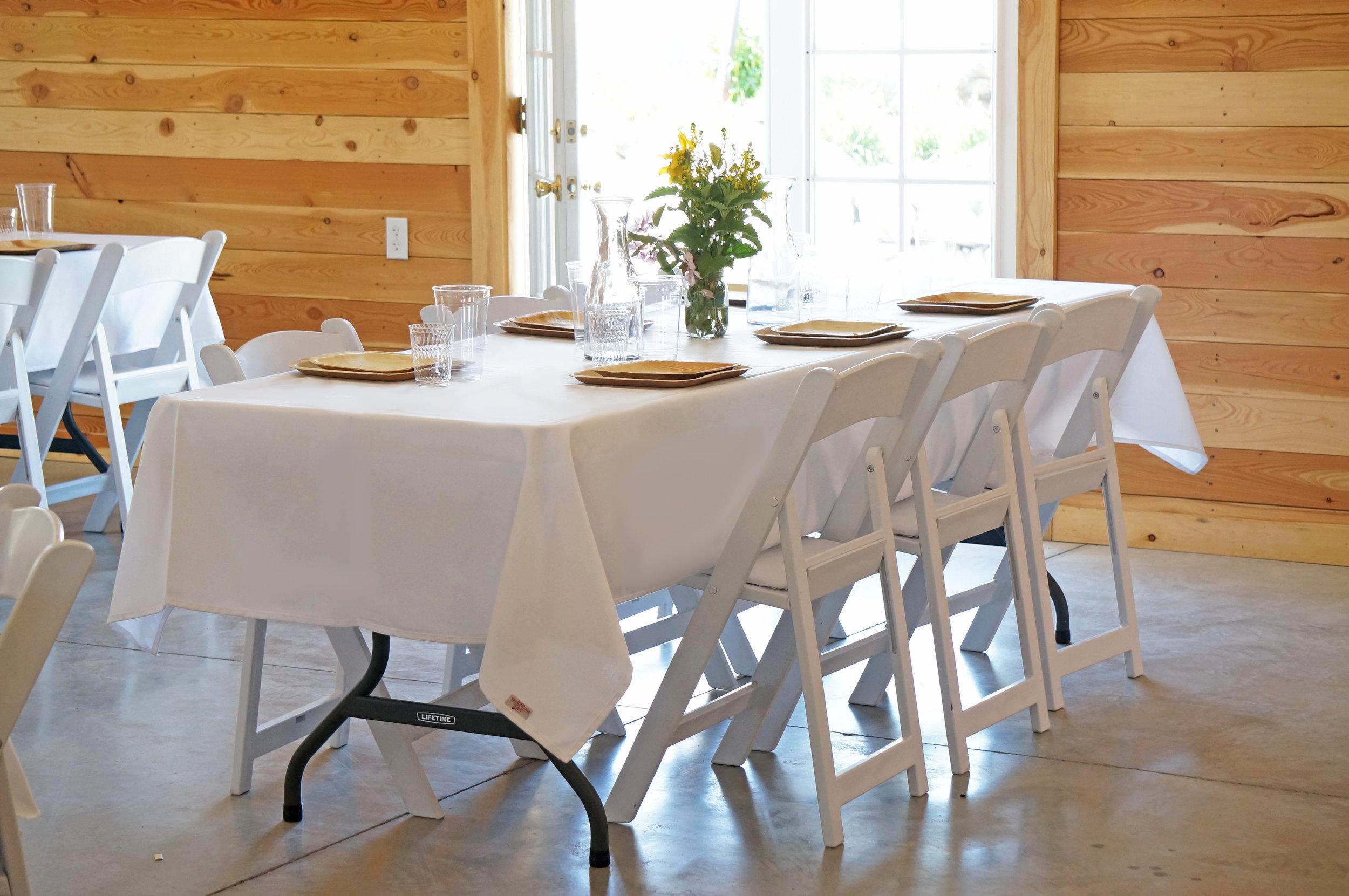 Mid-Length, Rectangle Tablecloths