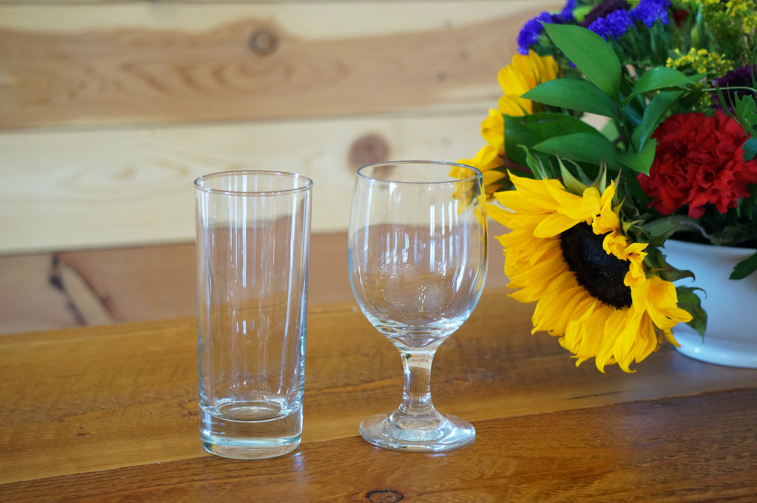 Highball/Water Glass & Water Goblet
