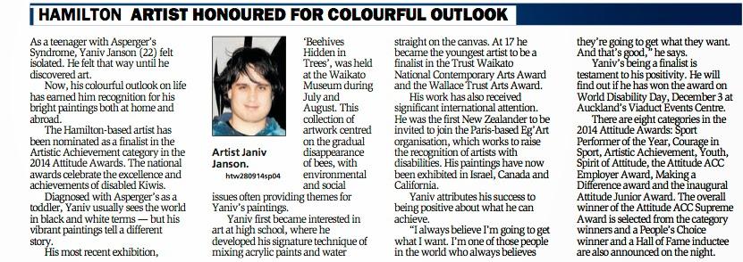 2014 Oct Hamilton News p3 article.jpg