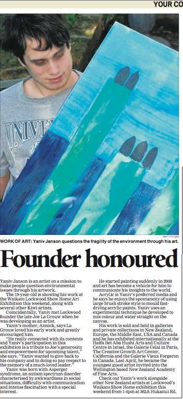 JACKSON Founder Honoured Yaniv Janson Hamilton News Nov 18 p7.jpg