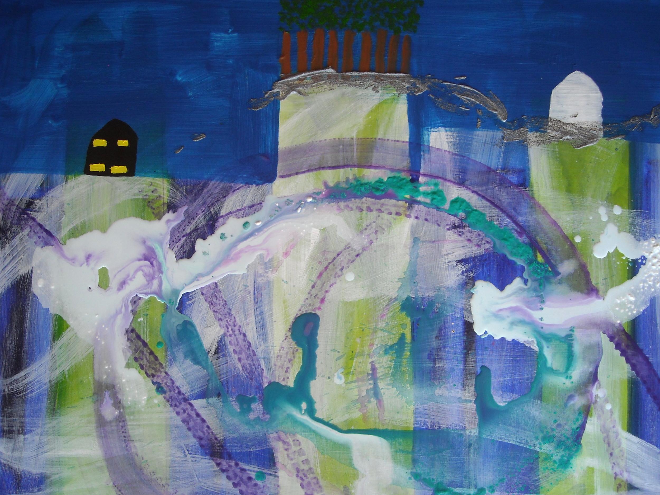 Turbulence Acrylic on canvas 120 X 70 cm Yaniv Janson.JPG