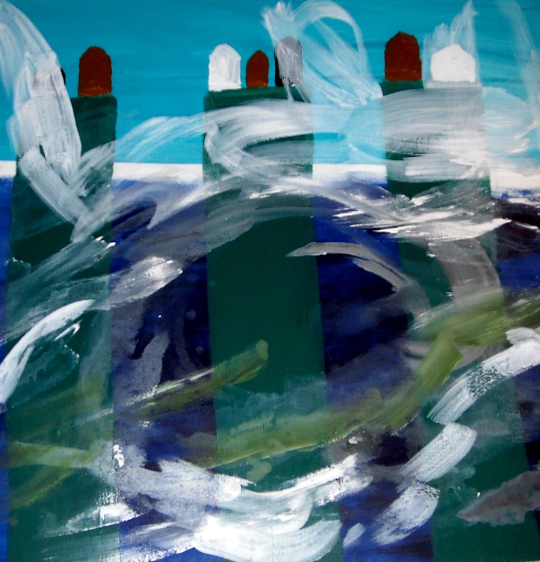 Frosty storms Acrylic on canvas 90 X 90 cm Yaniv Janson.JPG