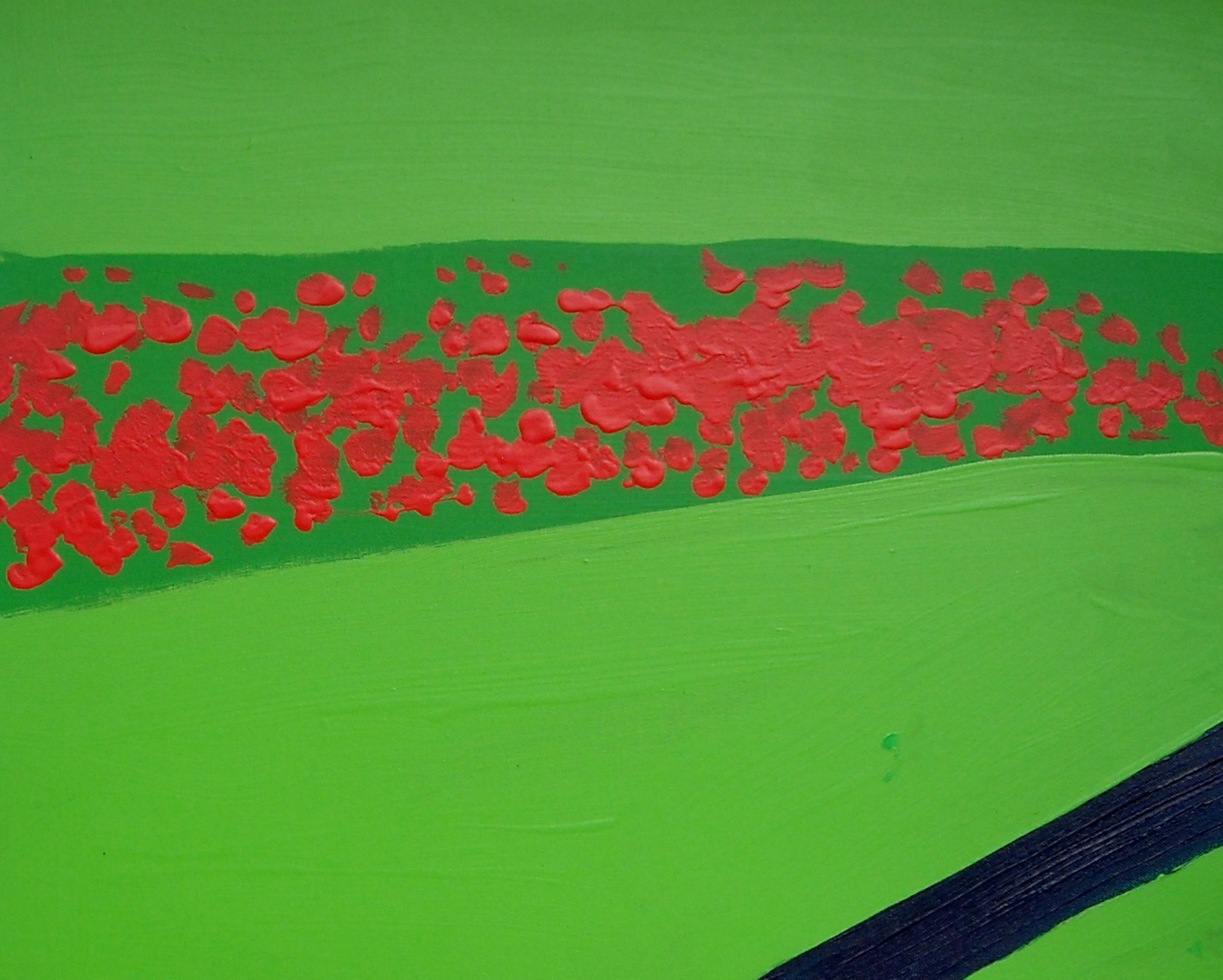 Queen Elizabeth Simple Garden Acrylic on canvas 59 X 50cm Yaniv Janson.JPG