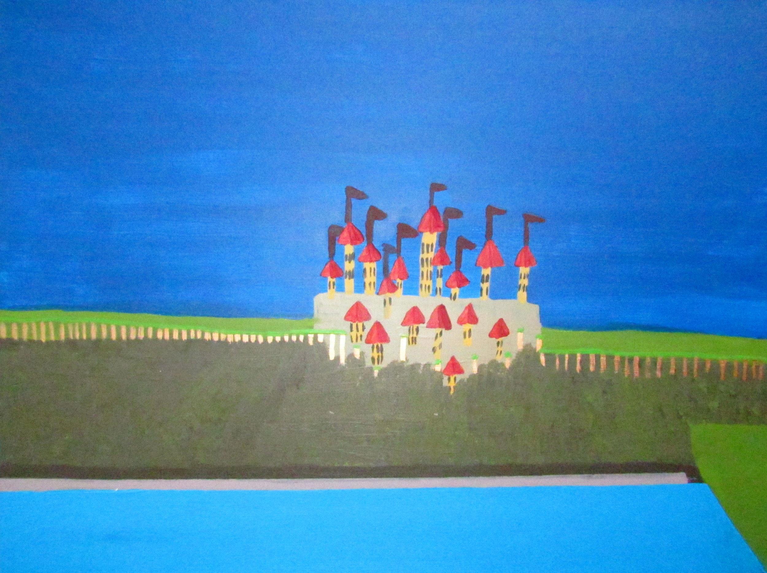 10 2016 Far far away kingdom, Acrylic on Canvas, 101 X 76cm, Yaniv Janson.JPG