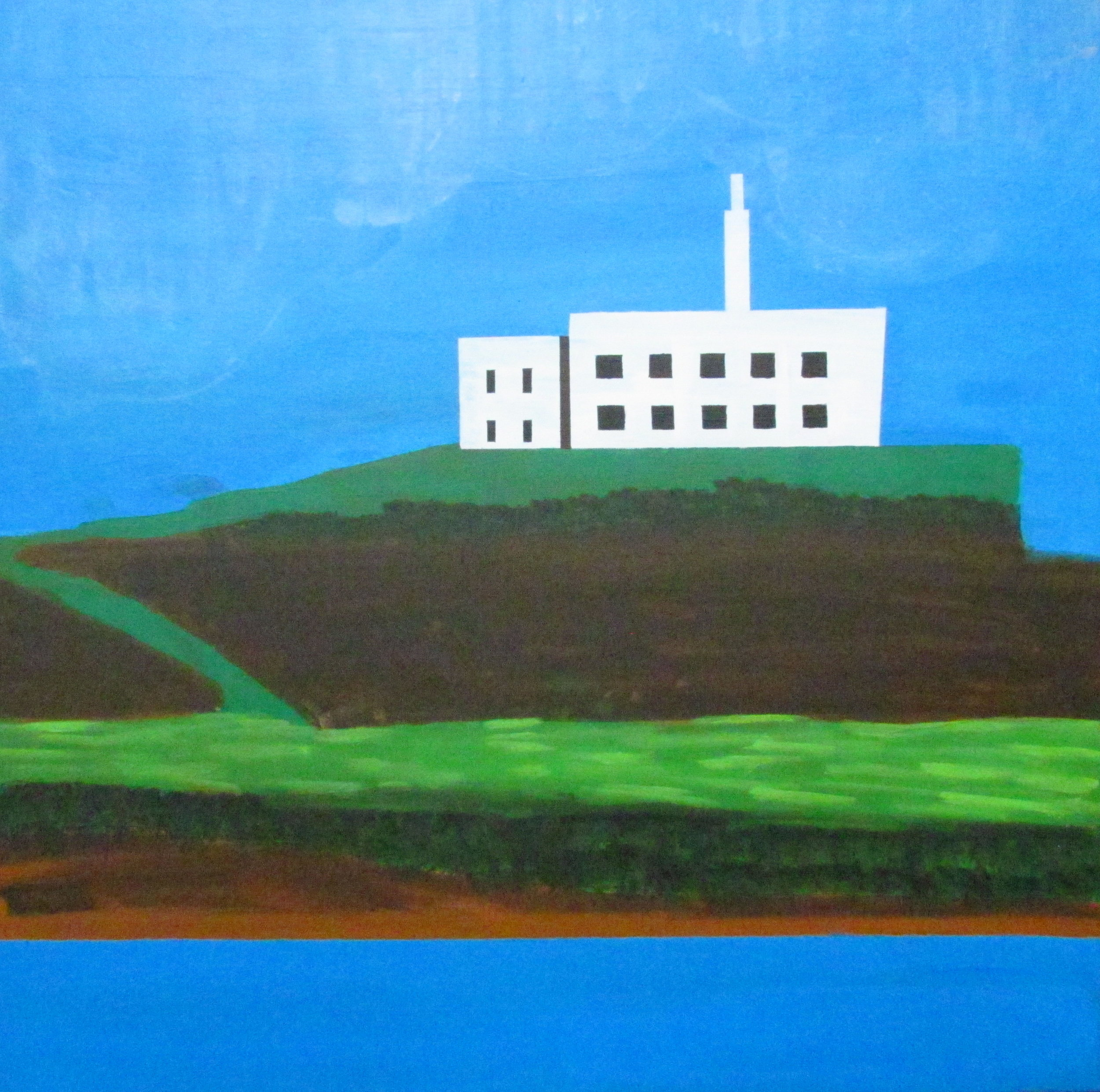 18 2016 View to Jail, Acrylic on canvas, Yaniv Janson 76X76cm.JPG.JPG
