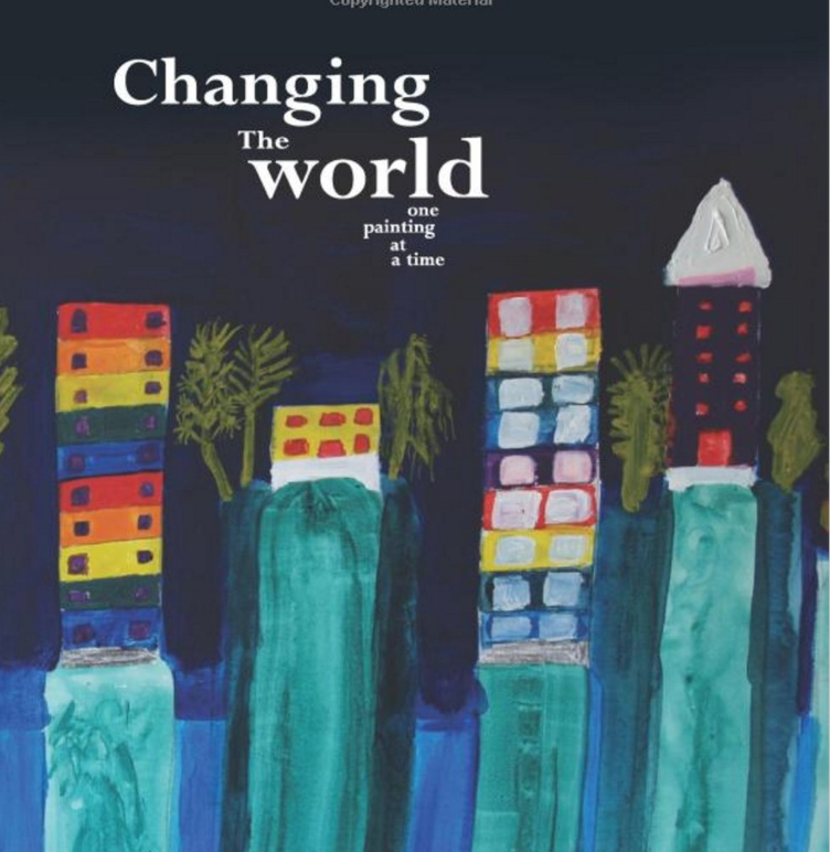 Changing the World: One Painting at a time - A visual representation of Yaniv's perception of the world with some of his thoughts on environmental concerns. The book also includes a teacher sequel with pointers on how to develop key competencies with students affected by communicative disabilities via the art medium.