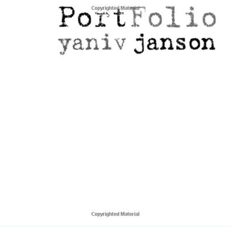 Portfolio (2010) - A collection of classic Yaniv pieces. Yaniv is a notable artist not only because of his ability to showcase color on the canvas, but because of his powerful message of hope to 'special needs' artists and their families.