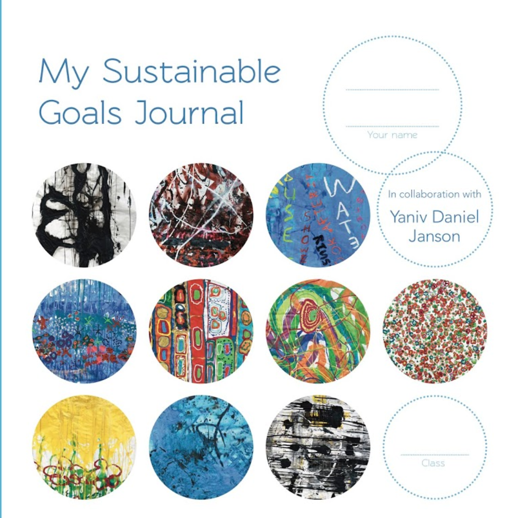 My Sustainable Goals Journal (2018) - Fresh from exhibiting his Please Do Touch' exhibition internationally, Yaniv is shifting his focus to engaging a younger demographic through an imaginative interactive book of his Please Do Touch exhibition. Working in partnership with Te Uku School, a forward thinking elementary school near Raglan, Yaniv has designed a workbook that encourages students to explore their creative outlets with a focus on their personal relationship to the environment. His with or without approach is a strategy that can teach children and inspire action because of its simplicity.