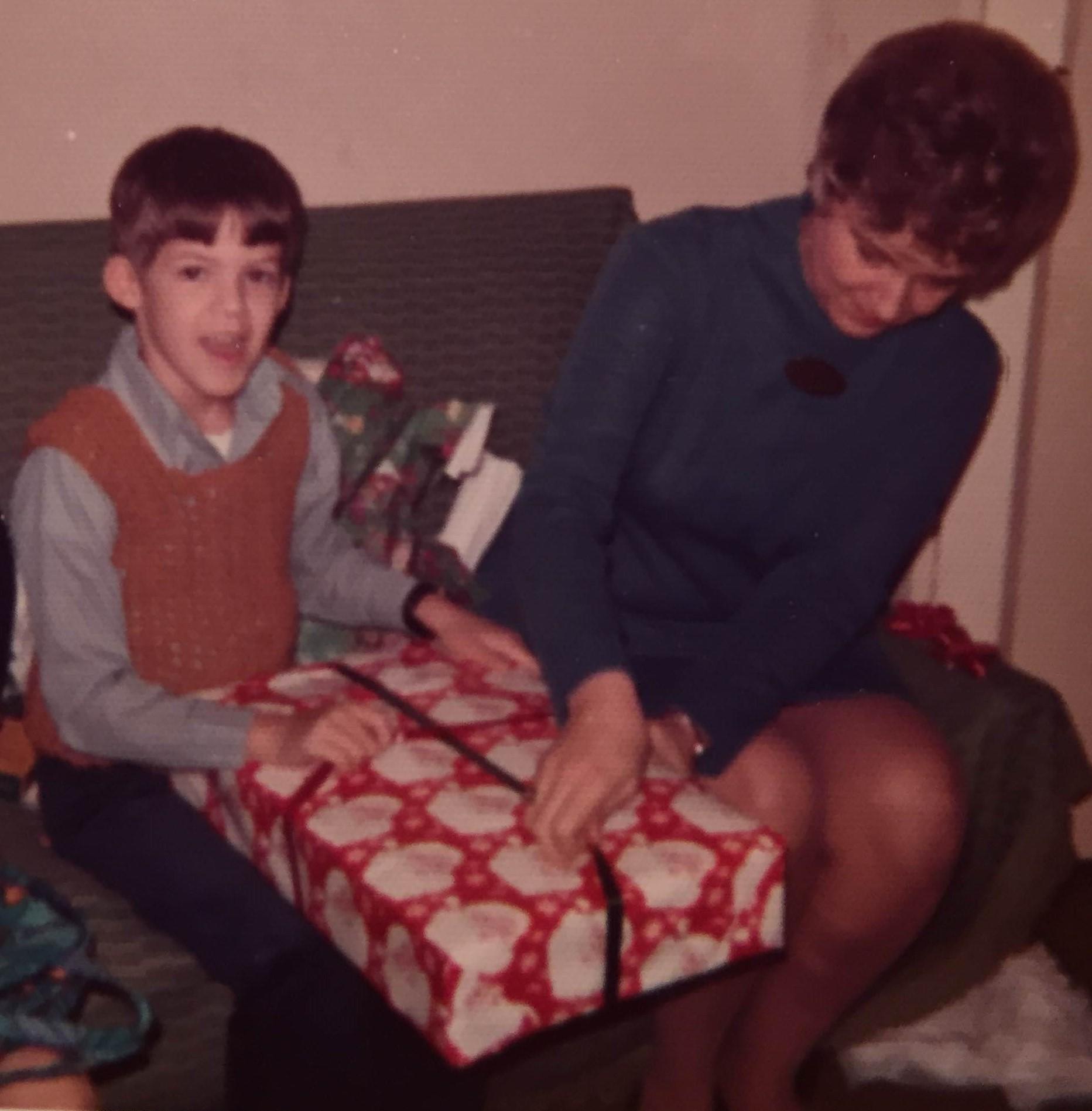Me and mom, 1973.