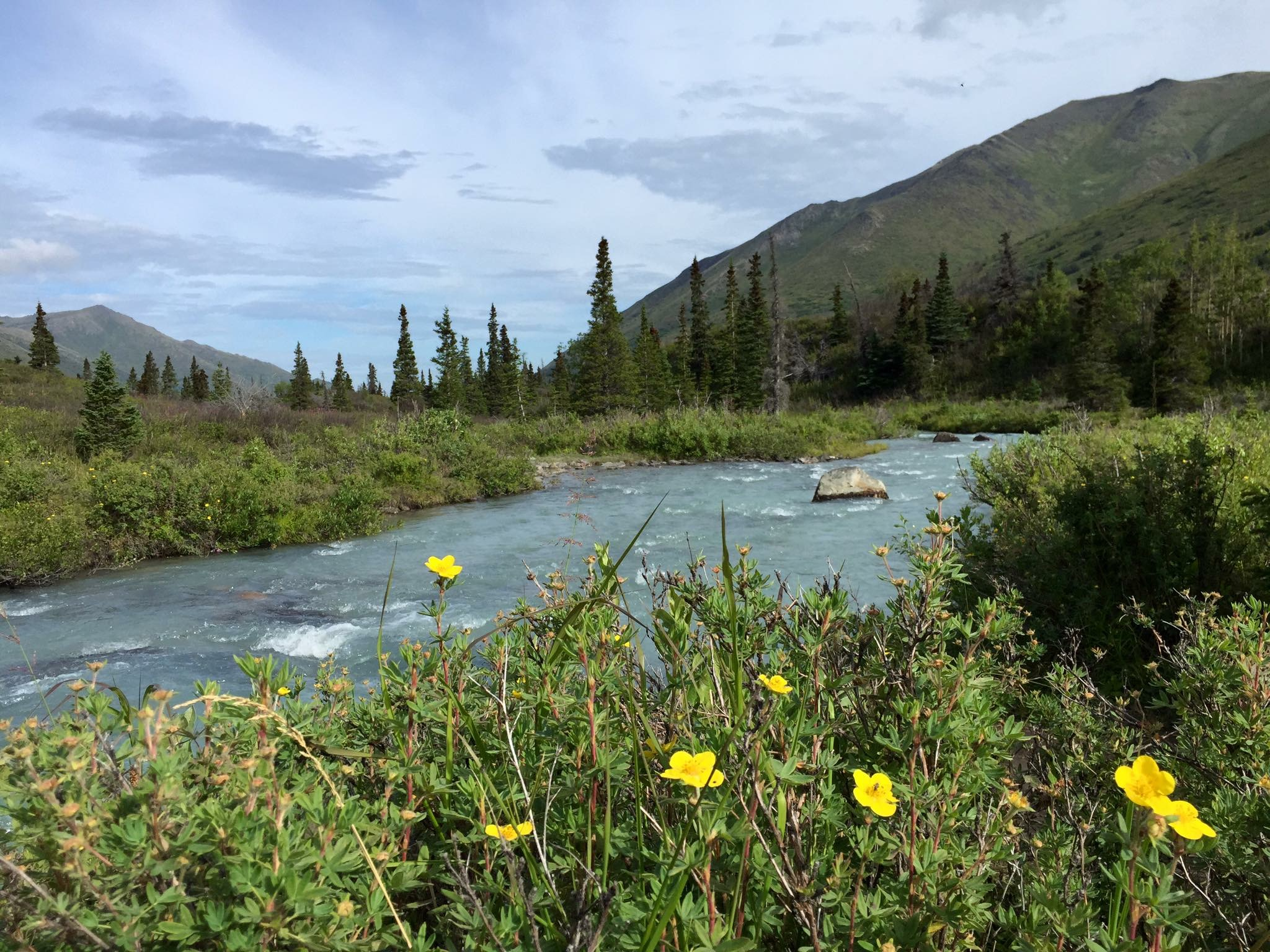 Travel tops most bucket lists and Alaska is a much-desired destination (I shot this near Eagle River).