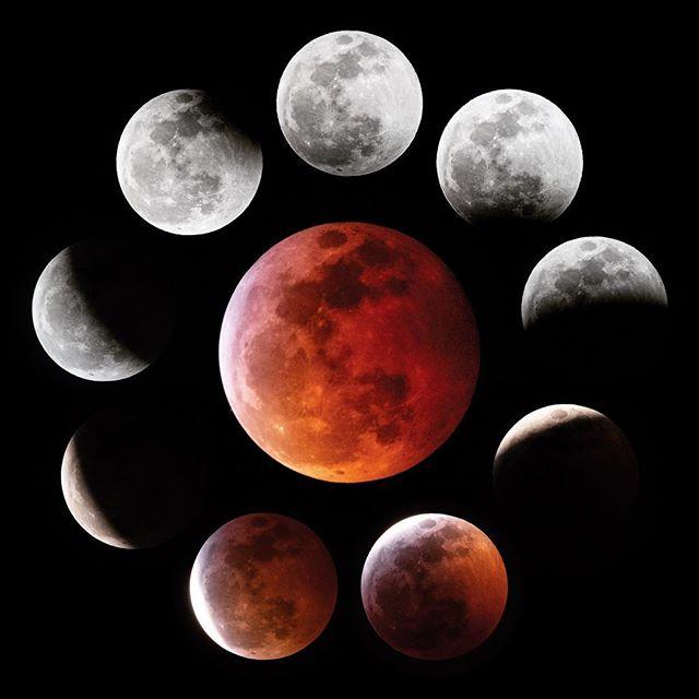 Superlative Moon 🌕🌖🌗🌘🌑🌒🌓🌔🌕 1.20.19 #AshLivin