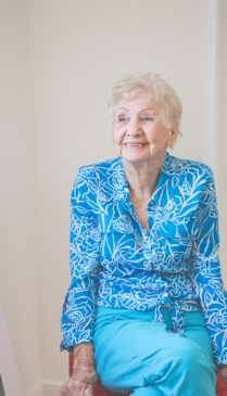 My grandma!