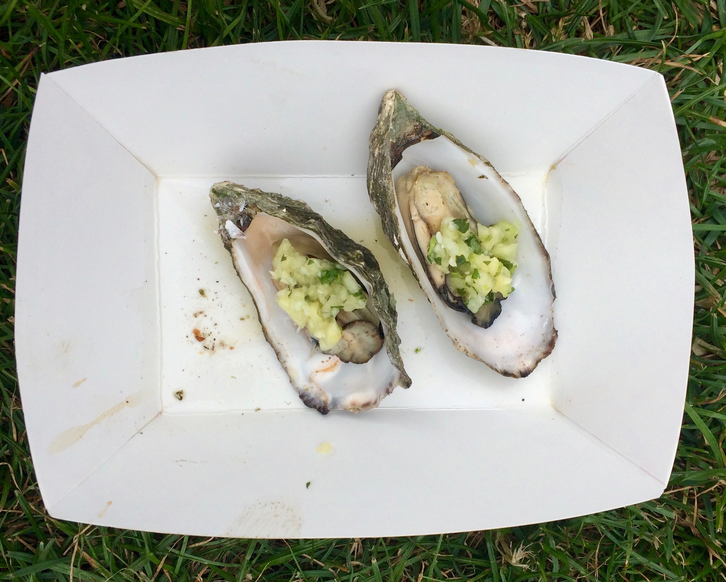 Humboldt Bay – with a cucumber chutney