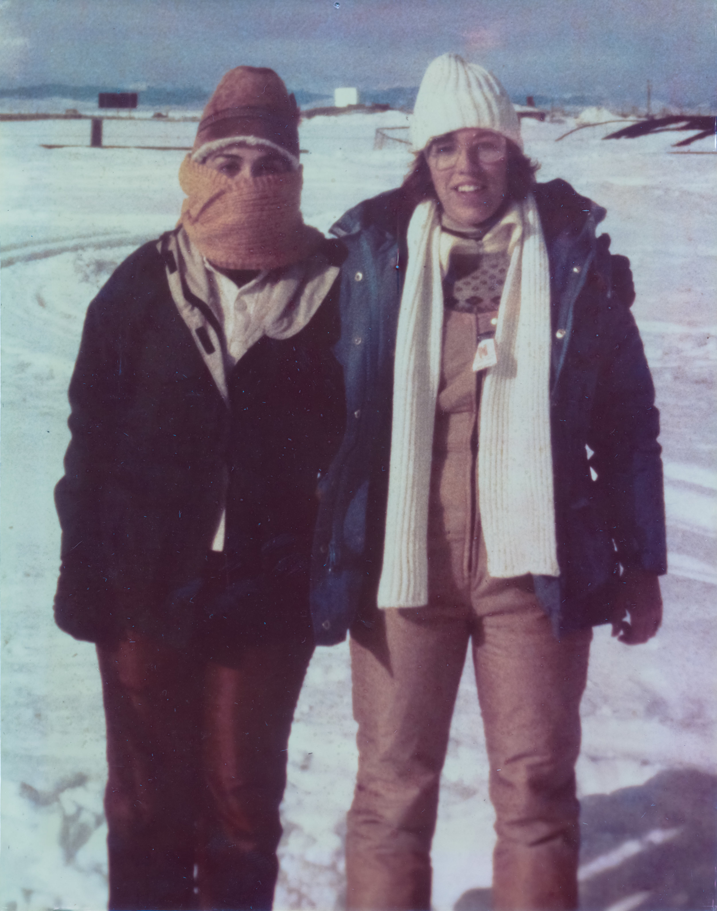 Susan Meyers-Holms and me, Cindy Weigel, 1979