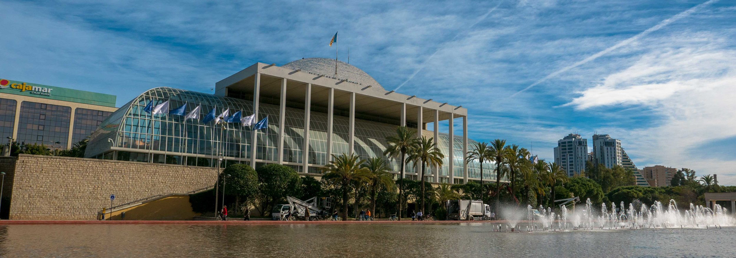Home of the Valencia Symphony. Concert tickets start at 10 euros (about 12 dollars.)