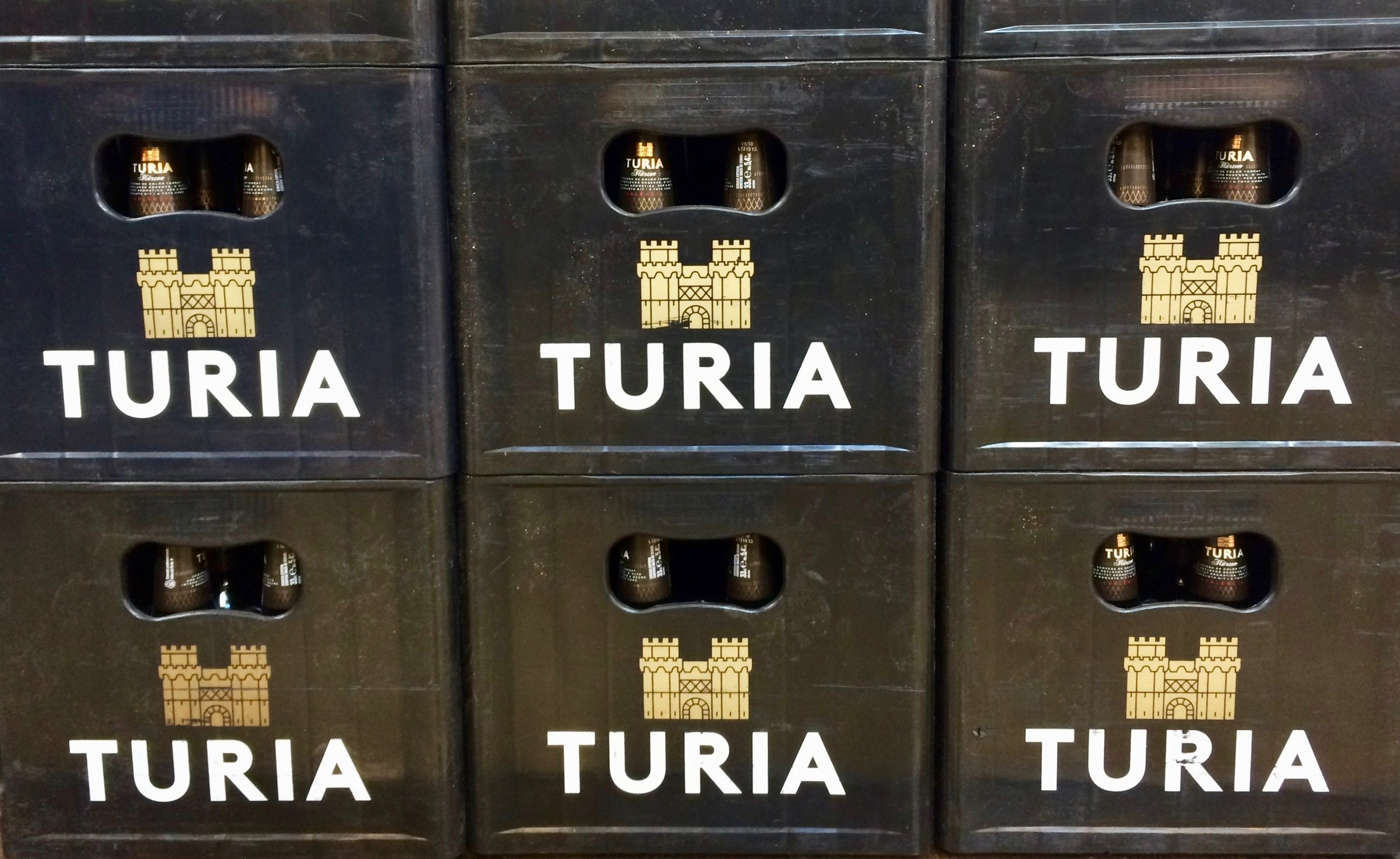 """Valencia has it's own beer """"Turia""""."""