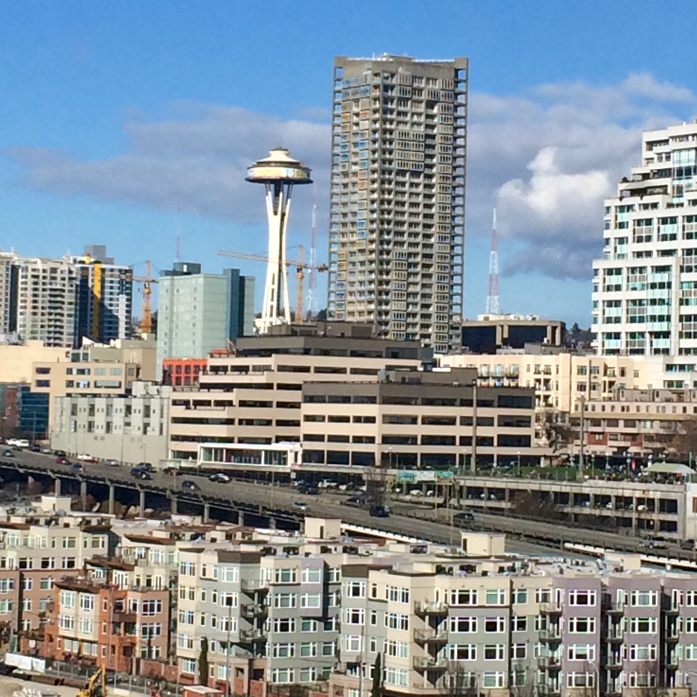 Day 3. View from the Great Seattle Sky Wheel.