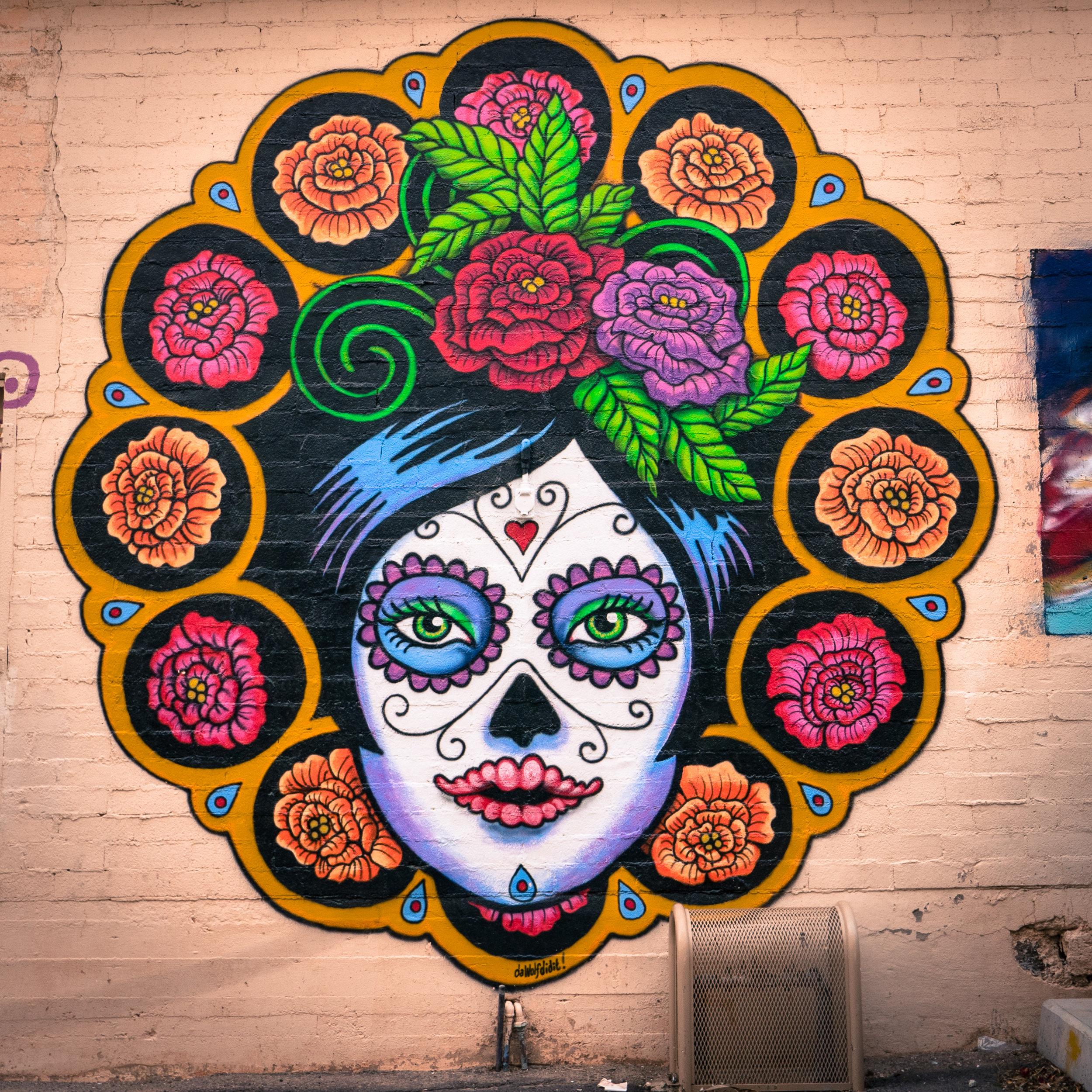 The artwork in Ajo, Arizona. Inspiring!