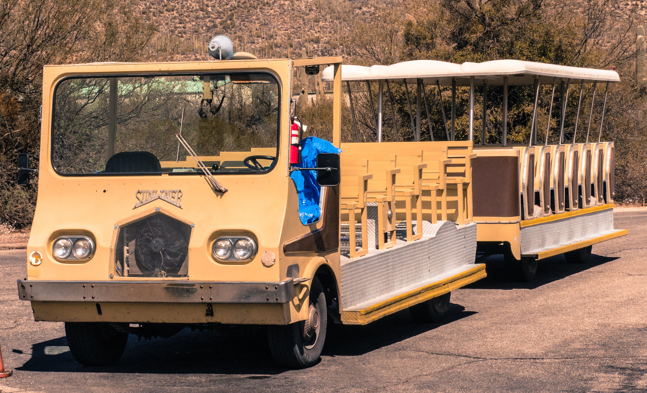 Take the tram or hike. It is all good in Sabino Canyon.
