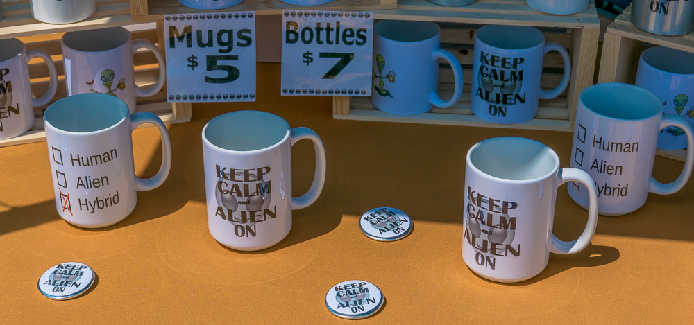 Merchandizing of Alien SWAG.