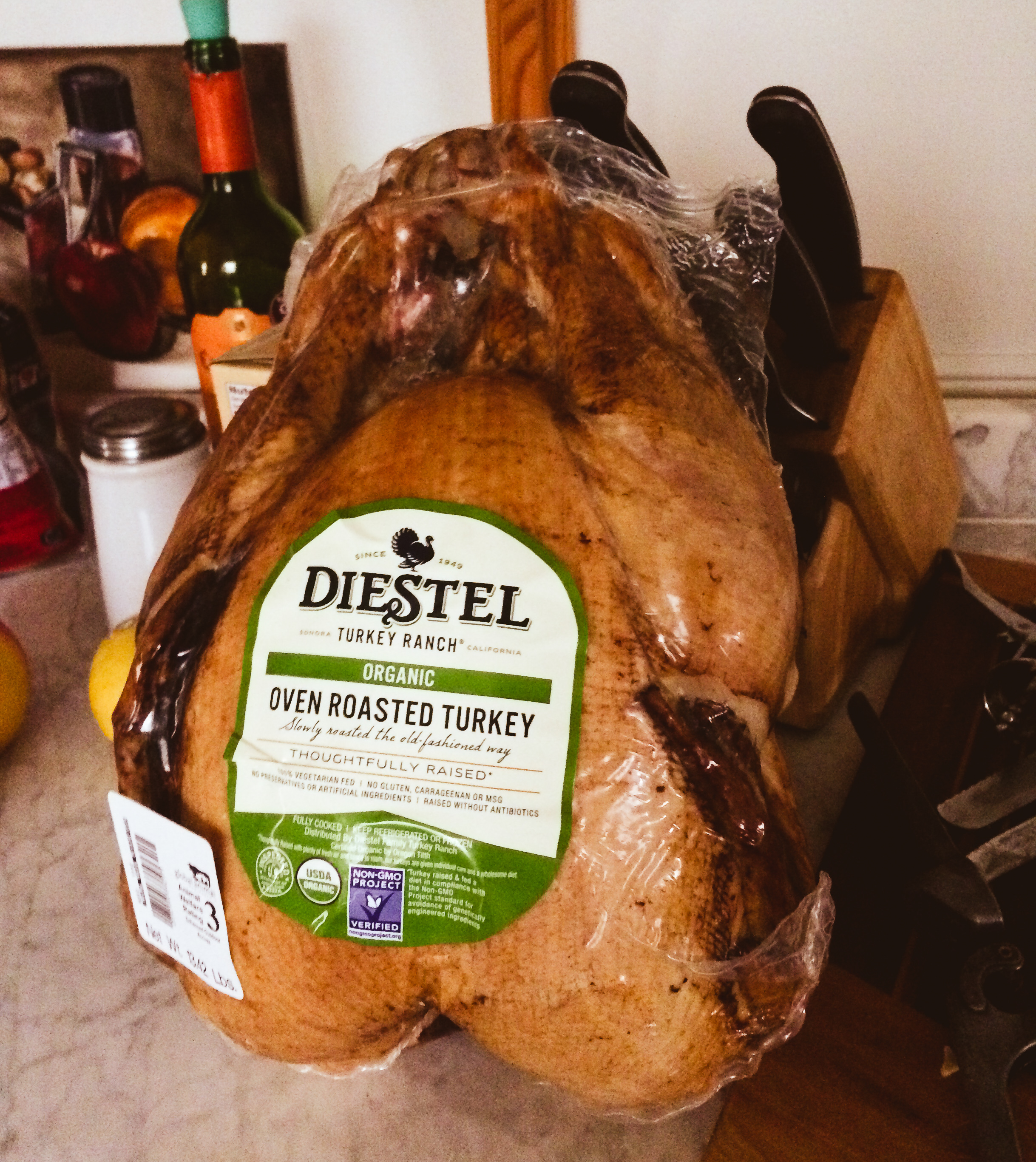 One of the best Thanksgiving turkeys ever from the  Ashland Co-op .