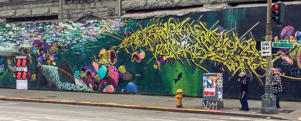 Street Art in Seattle.