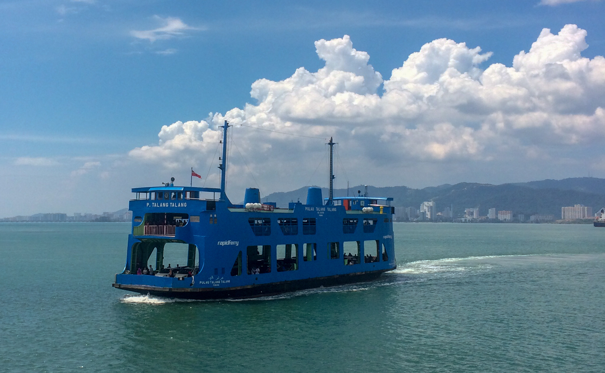 It all started with a beautiful ferry ride to the island of Penang, Malaysia. But, things didn't go as planned.