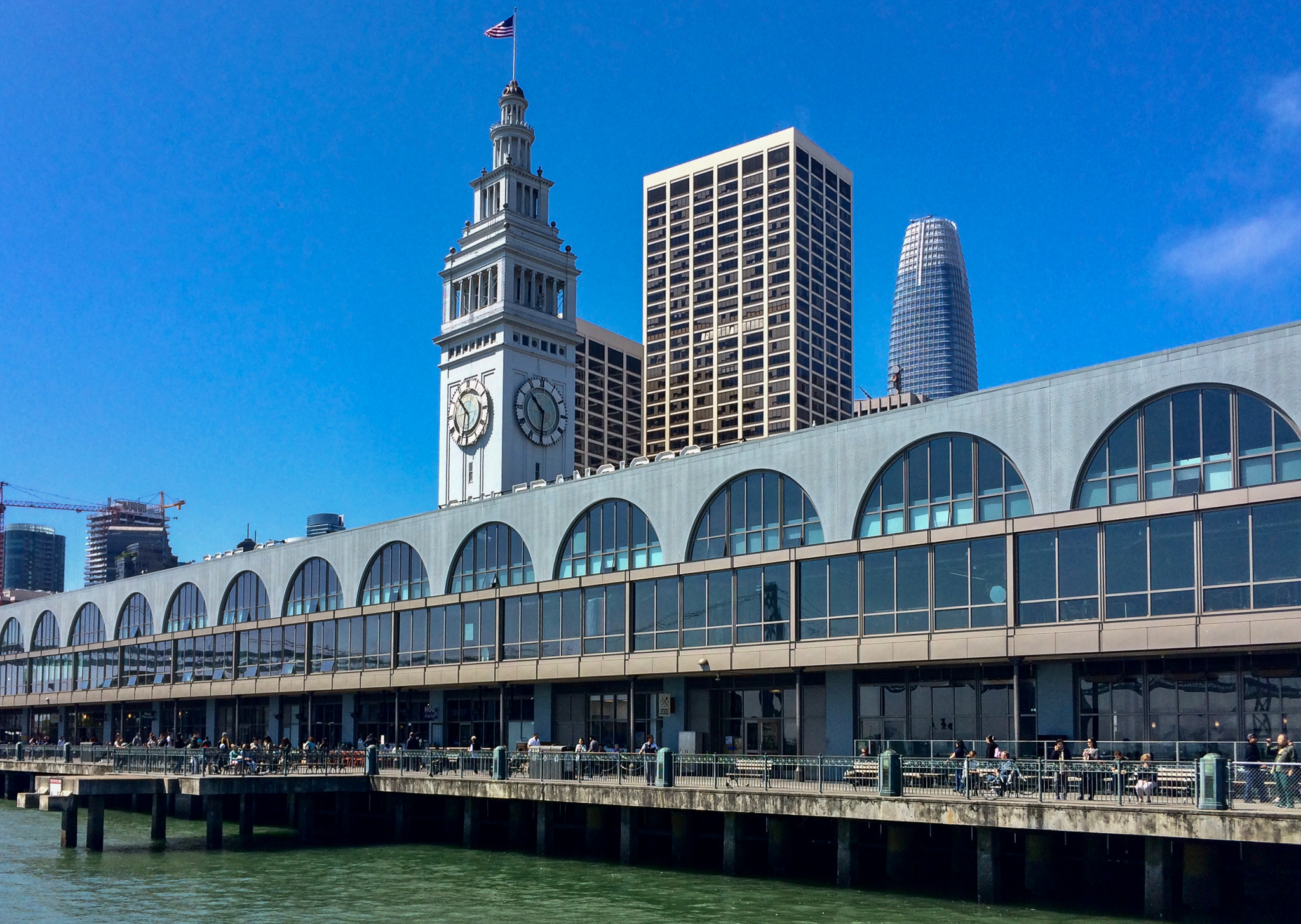 First stop, the Ferry Building.