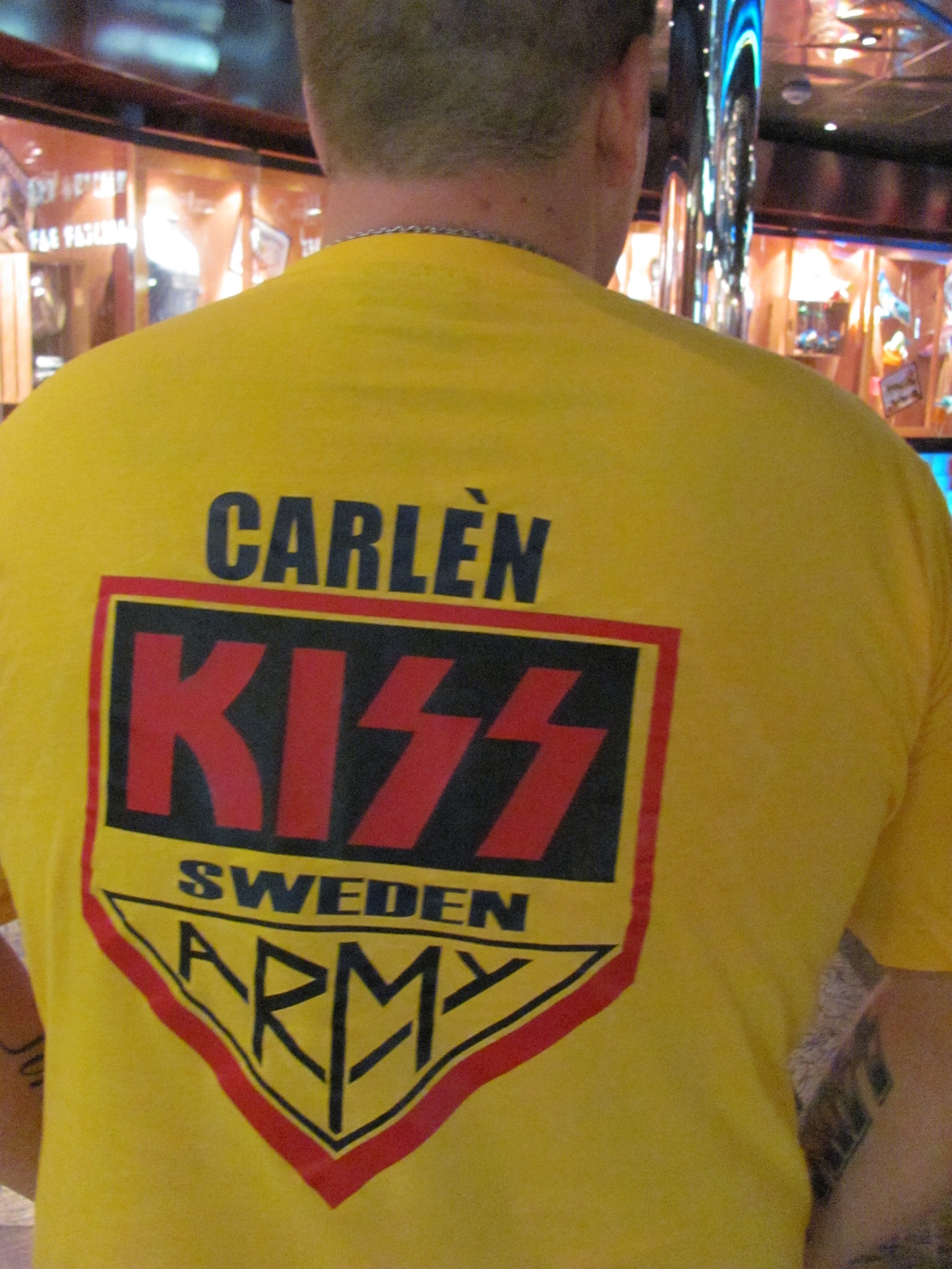 Fans from all over the world hop aboard the Kiss Kruise.