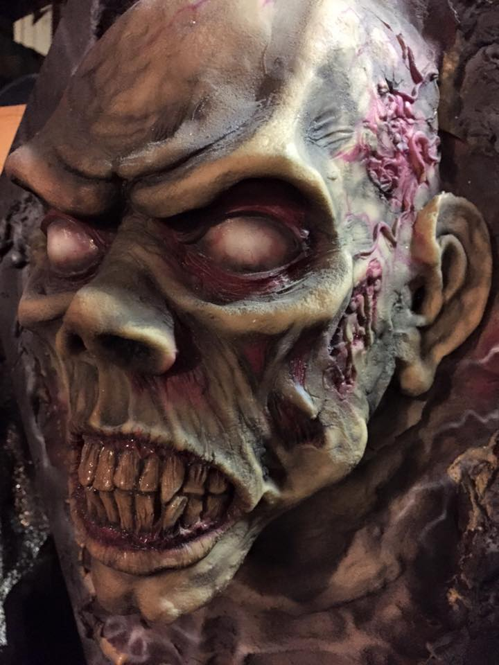 One of Morton's zombified mugs.