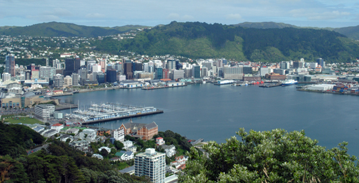 Wellington, New Zealand. Credit: Rebecca Perry.